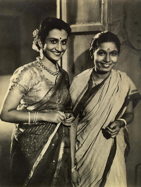 Actresses wearing their sarees