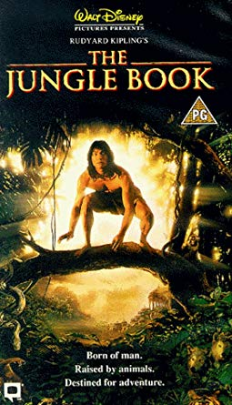 Movie poster for Rudyard Kipling's The Jungle Book (1994)