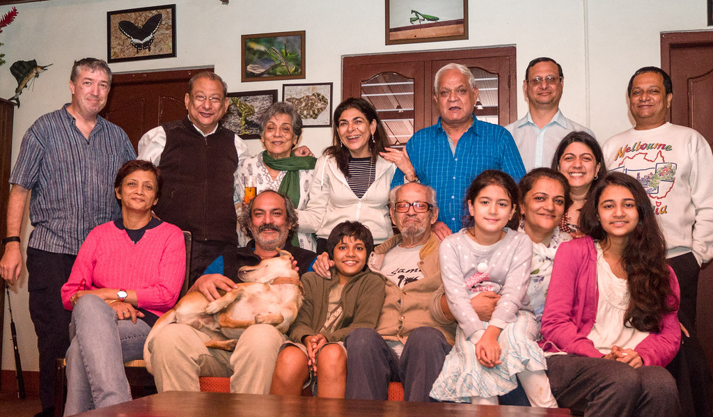 Four generations of an Indian-American Family