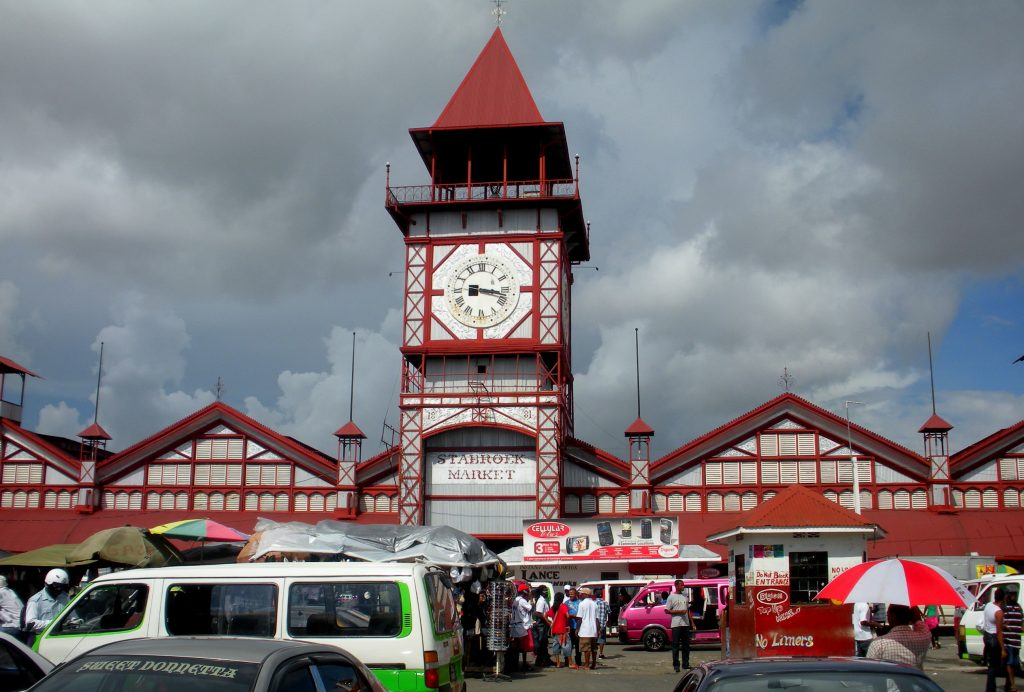 Stabroek Market in Georgetown, Guyana