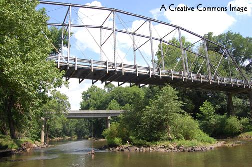 Standing on the Bridge