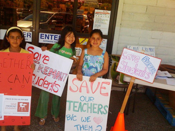 Rallying for Education