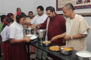 Akshaya Patra serves the billionth meal!