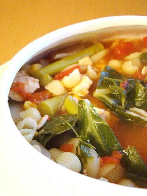 Three Ethnic Soups for Autumn
