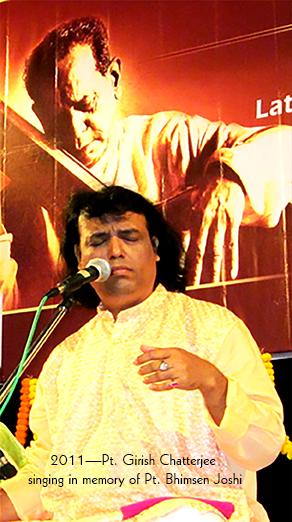 Nourishing a Musical Legacy: Pt. Girish Chatterjee