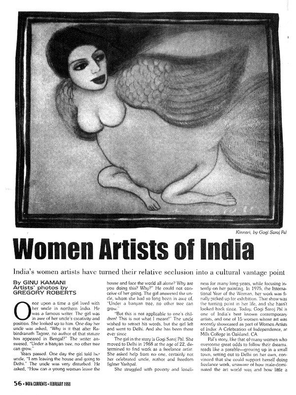 Women Artists of India