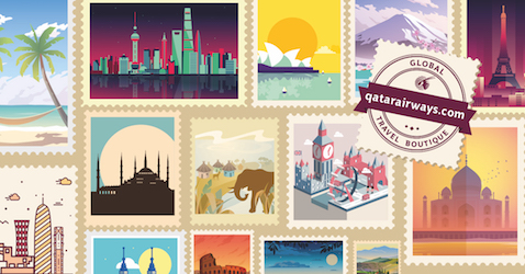Irresistible Offers at Qatar Airways' Global Travel Boutique