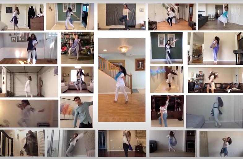 Social Distance Dancing for Mental Health