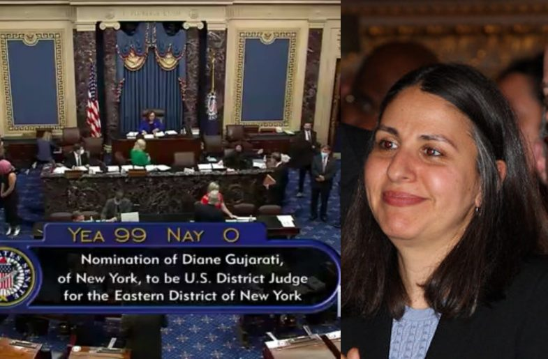 Senate Confirms Diane Gujarati As Federal Judge