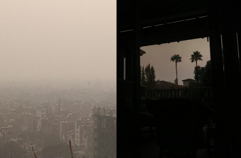 Delhi and San Jose Have the Same Gray Skies