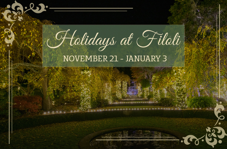 Come Celebrate The Holidays At Filoli