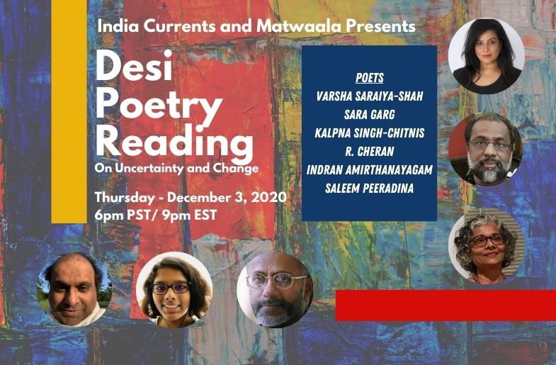 Making Space For the Unknown: Desi Poetry Reading