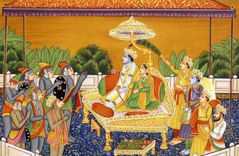 Ram Rajya scene