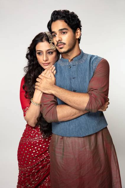 Tabu with Ishaan Khattar in A Suitable Boy