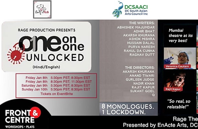 Unlocked: Eight Monologues. One Lockdown