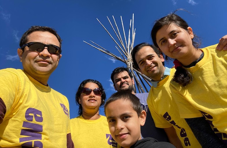 Sewa International's Volunteers Walk for Health