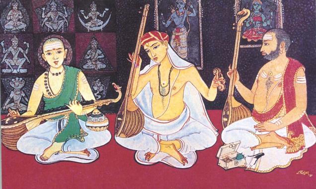 The Carnatic Trinity