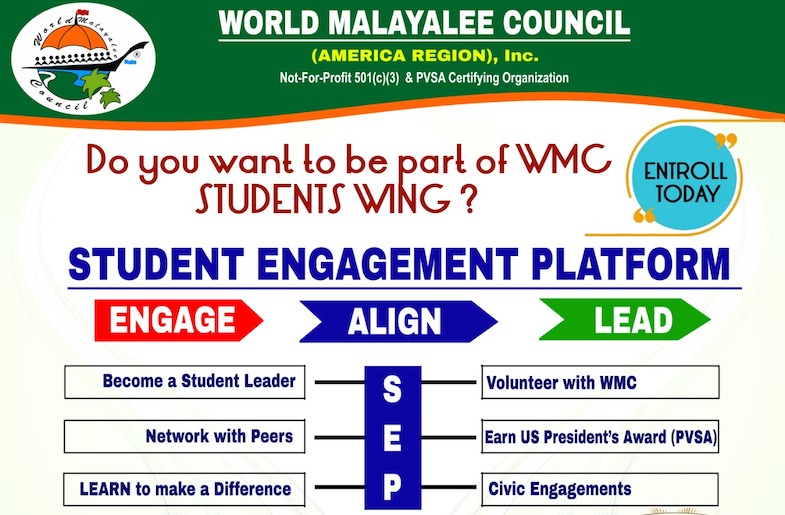 Student Engagement Program by Malayalee Council