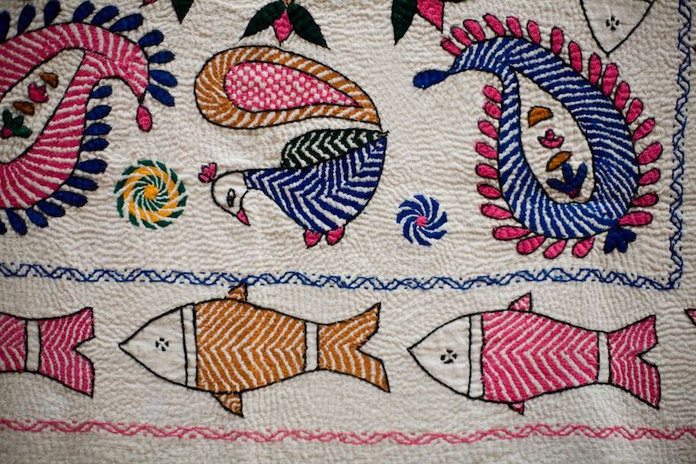 Quilting: PreVedic Folk Art Woven from Saris