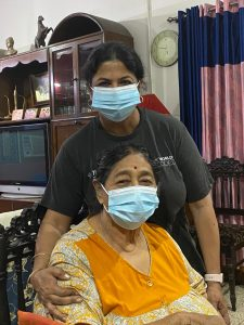 Vandana & her Mom