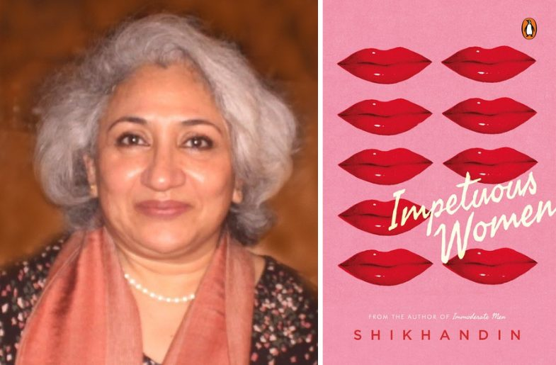 Left to Right: Shikhadin and her book, Impetuous Women.