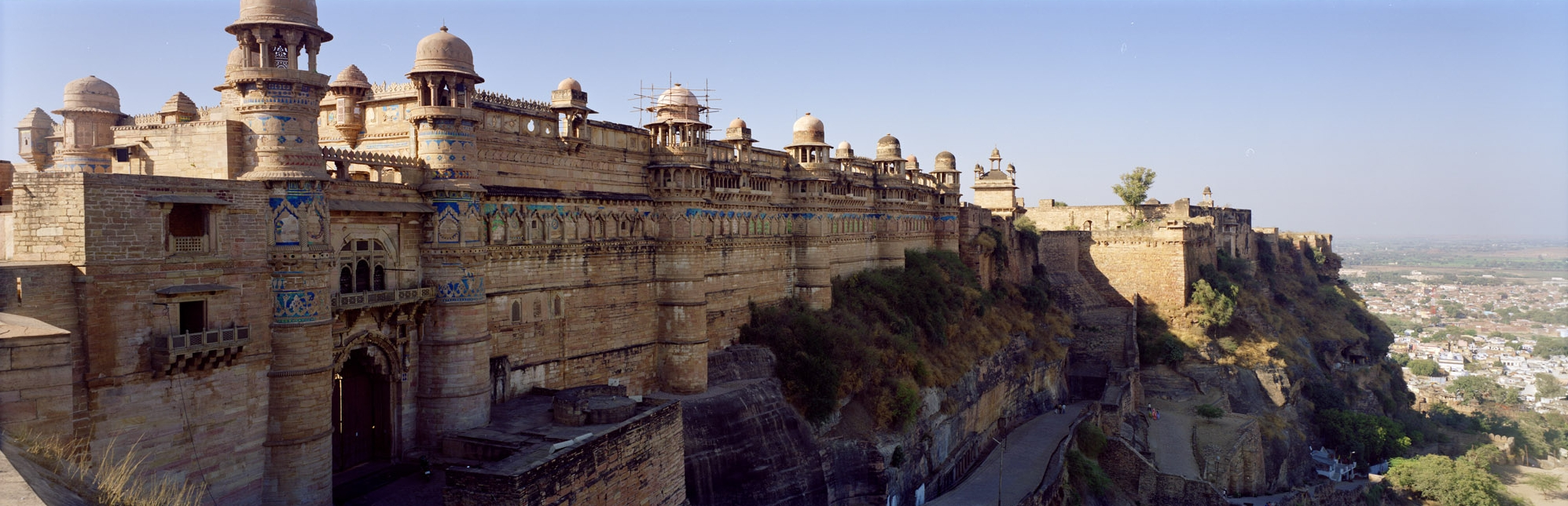 Gwalior Fort (Image by Pavel Suprun and under Creative Commons License)