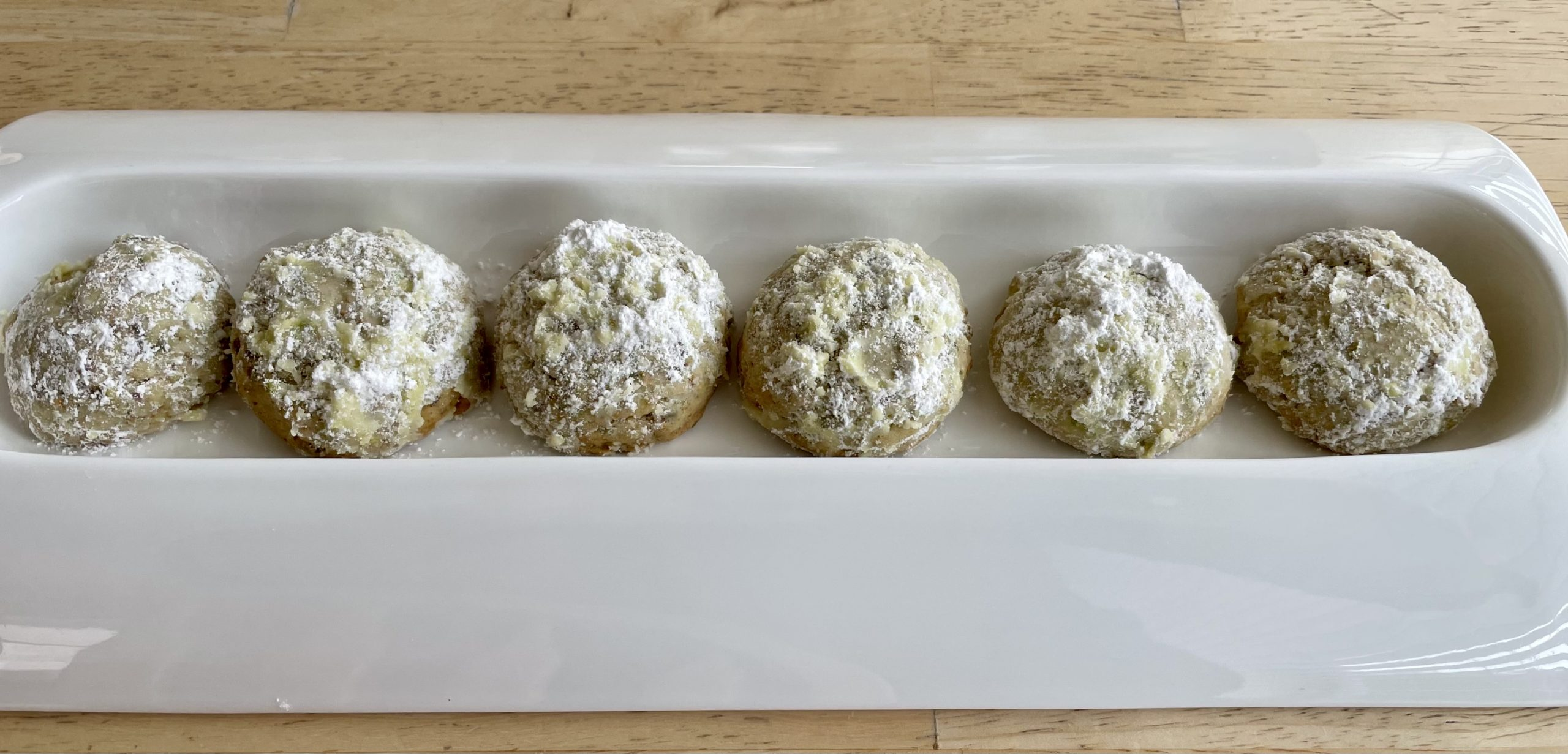 Pistachio Cardamom Cookies (Image by Author)