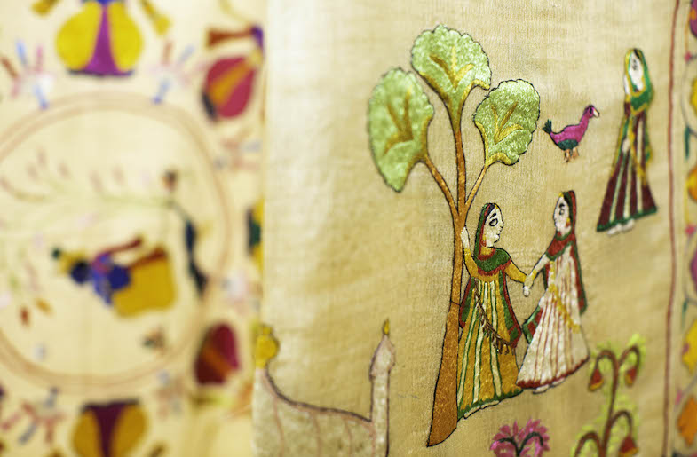 Chamba Rumal: Paintings in Embroidery