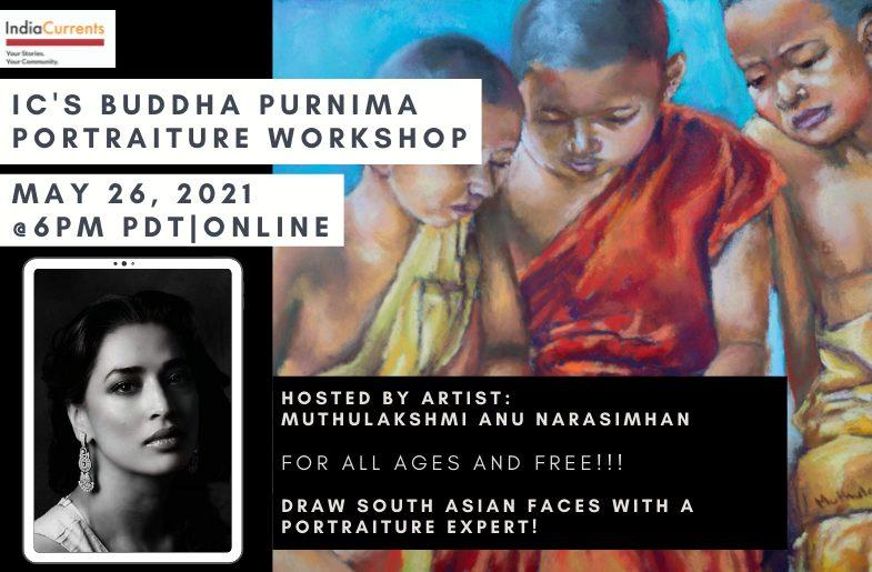 IC's Buddha Purnima Portraiture Workshop: Fusing East With West