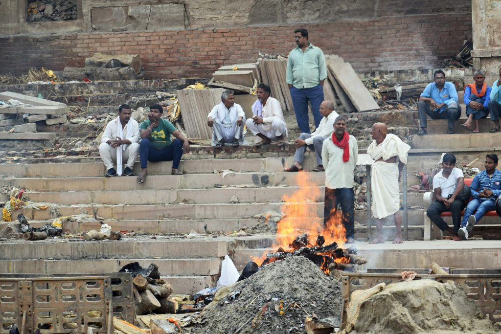 Cremation grounds in India (Image unrelated to ongoing currents events in India)