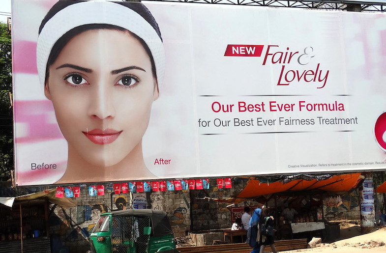 Fair and Lovely Billboard in Bangladesh (Image by Adam Jones and under Creative Commons License 2.0)
