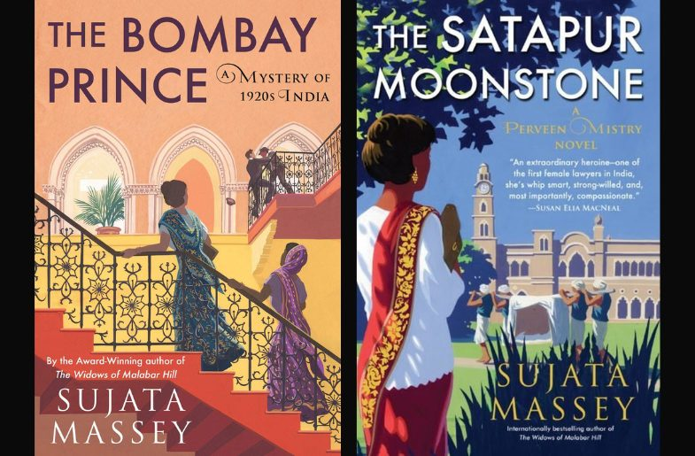 Book covers for: The Bombay Prince and The Satapur Moonstone
