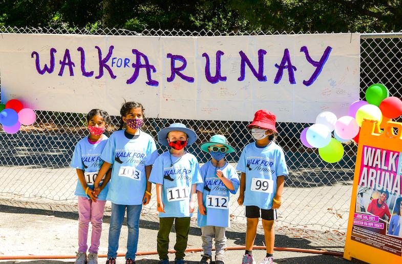Walk For Arunay on Beach Safety organized by the Arunay Foundation.