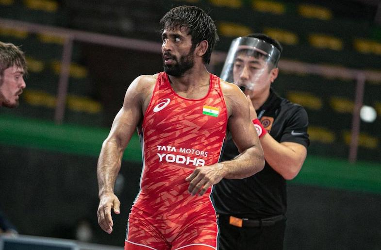 Bajrang Punia wins the gold in Rome.