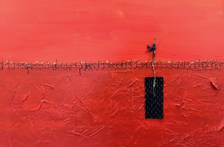 Sushmita Mazumdar's work, 'Something is Missing/Present - Grounding'