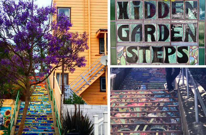 Tiled Steps Around SF/Bay Area (Images by Mona Shah)