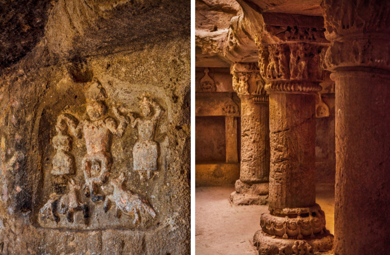Gujarati Caves Embellished With Buddhist Architecture Are a Marvel of Craftsmanship