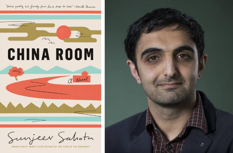Left to right: Book - China Room and Author - Sunjeev Sahota