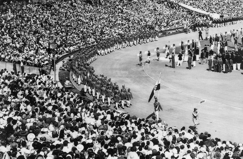 India at the 1948 Olympic Games in London (Image from Wikimedia Commons)