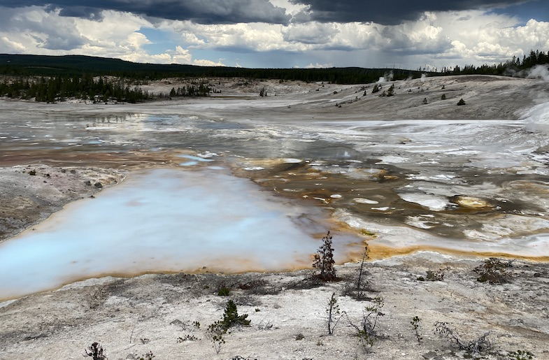 Yellowstone National Park -- one of the stops on the Wild West road trip.