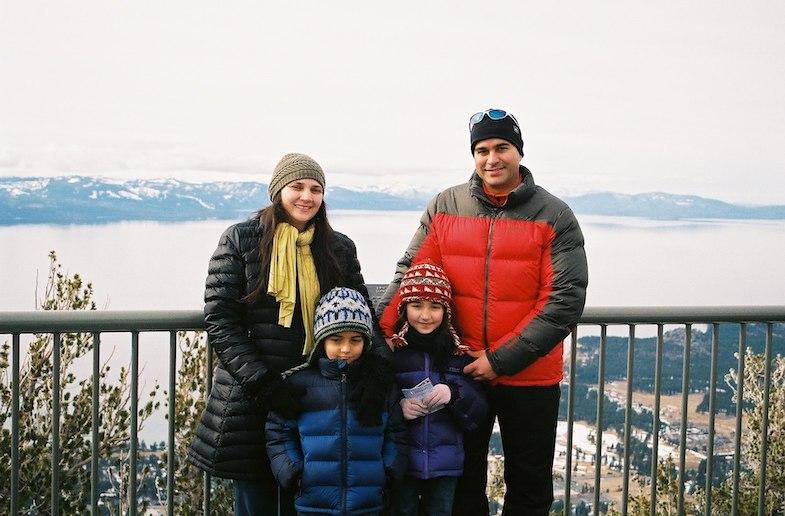 Abha Sharma and her family