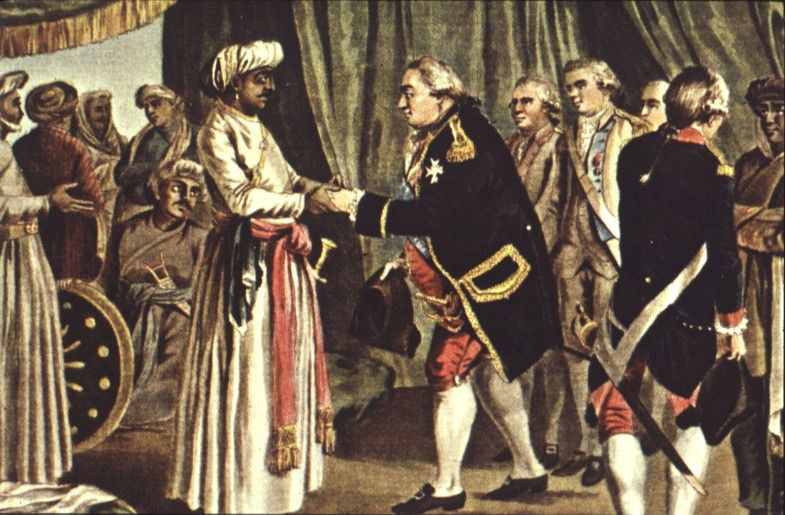 """America's """"Hyder-Ally"""": An Indian Sultan & the American Revolution"""