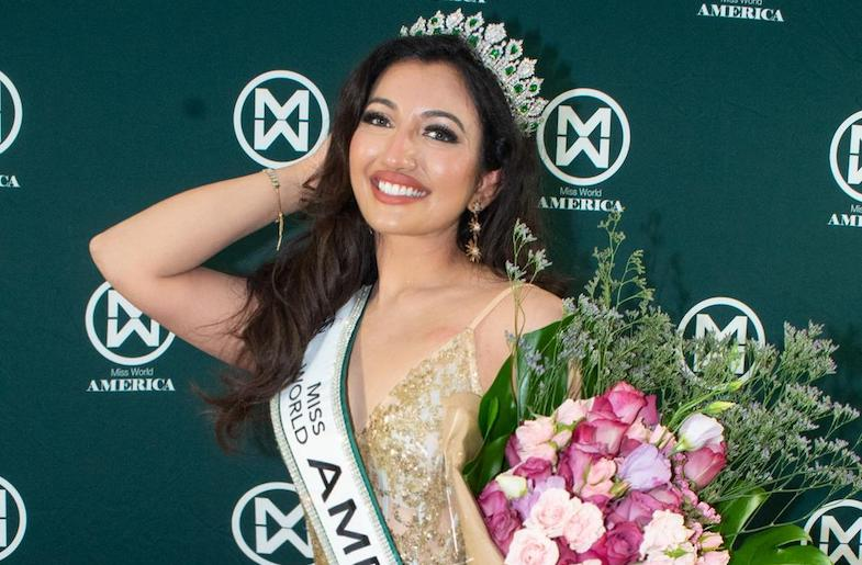 The First Indian American to Represent USA at Miss World